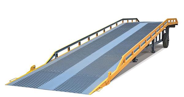 移动登车桥的主要型号和结构图
